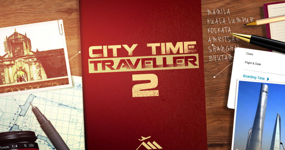 City Time Traveller 2 Ident